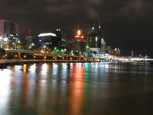 South Brisbane on the river